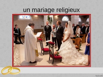 French - Le mariage en France