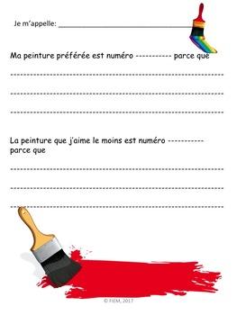 French: Le printemps: Vocabulaire & Activités de langage, d'art et de math