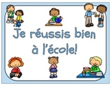 French Learning Skills and Work Habits / Habilités et habi