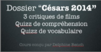 French Lecture - Dossier Césars 2014