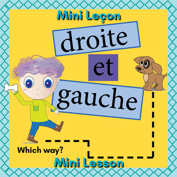 French Left and Right Booklet