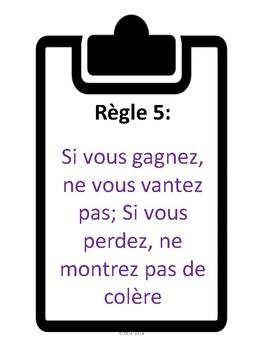 """French: Les """"55 Essentiels"""" de Ron Clark + activités"""