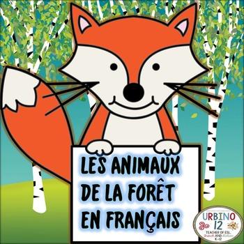French: Les Animaux de la Forêt