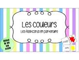 French - Les Couleurs en Français - Les Flashcards en Partenaire
