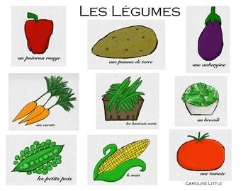 French - Les Légumes