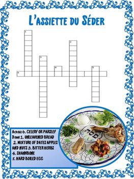 French:  Les Puzzles de la Pâque Juive