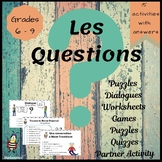 French:  Les Questions