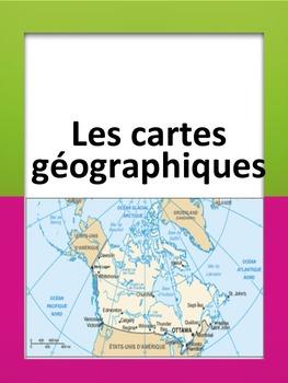 French: Les cartes géographiques, Cartes éclairs, French Immersion
