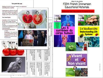 """French: """"Les cellules"""", Sciences, Expériences, Labs et Activités"""