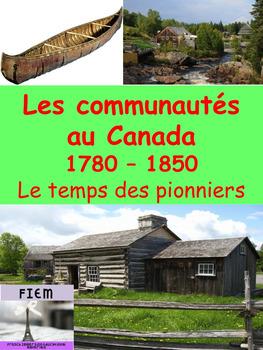 """French: """"Les communautés du Canada, 1780-1850"""", Patrimoine"""
