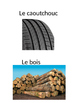 French: Les matériaux, Cartes éclairs, Primaire & Junior