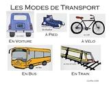 French - Les modes de transport