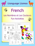French Numbers and Colors - Les nombres et les couleurs -