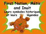 """French: """"Les premières nations canadiennes, symboles et légendes"""""""