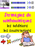 "French: ""Les stratégies de math"", Additions & soustractions"