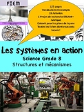 "French: ""Les systèmes en action"", Sciences, Grade 8, 123 slides"