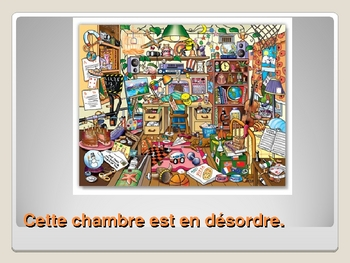 French - Les travaux domestiques - household chores