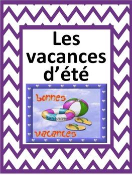 French: Les vacances d'été, Cartes éclairs, Core French &