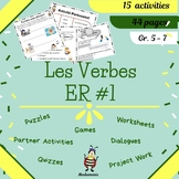 French: Les verbes ER  #1 / Beginning ER verbs