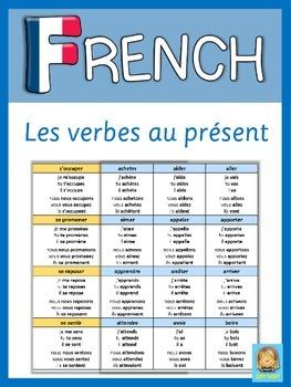 French - Les verbes conjugués au présent