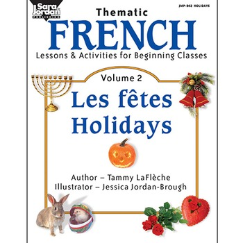 French Lessons and Activities for Beginning Classes, vol. 2