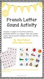 French Letter Sound Activity