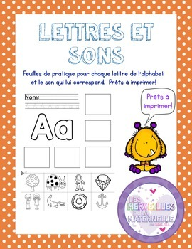 French Letter - Sound Matching