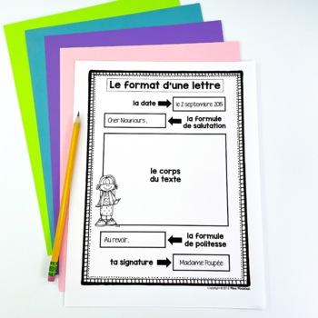 French letter writingcomment crire une lettre by mme mcintosh tpt french letter writingcomment crire une lettre spiritdancerdesigns Images