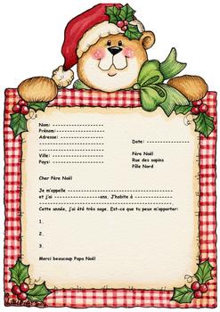 French letter to santa enveloppe by bonjour dirlande tpt french letter to santa enveloppe spiritdancerdesigns Images