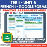 French Level 1 Distance Learning - Google Forms T'es branc