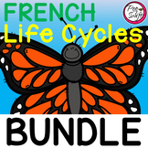French Life Cycle Study Bundle