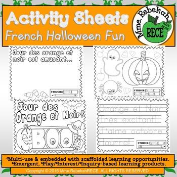 Halloween Printables Activity