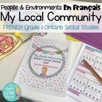 French Local Community & Community Helpers: Grade 1 Ontario Social Studies