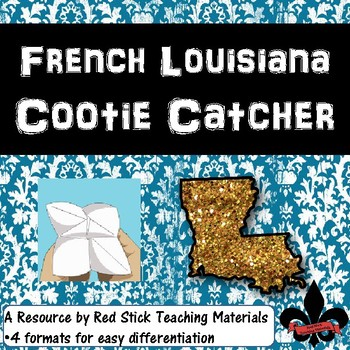 French Louisiana  Cootie Catcher