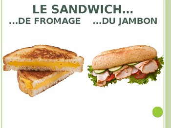 French Lunch Powerpoint