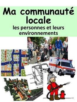 """French: """"Ma communauté locale: les personnes et leurs envi"""