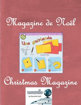 French - Magazine de Noel - Holiday Magazine