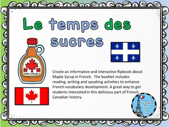 French Maple Syrup Le Temps des Sucres Flipbook Ontario Core French