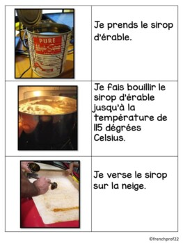 French Maple Taffy La Tire instructions Ontario French Culture Curriculum