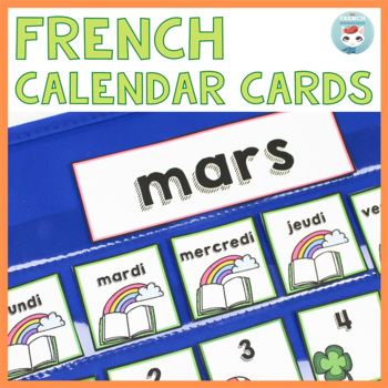 French March Calendar Cards | Mars