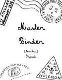 French Master Binder Cover