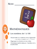 French 1-100 counting, patterns, addition & subtraction, p