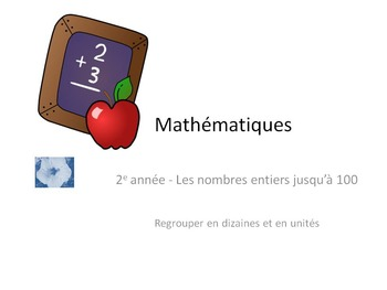 French Math 1-100 tens & units