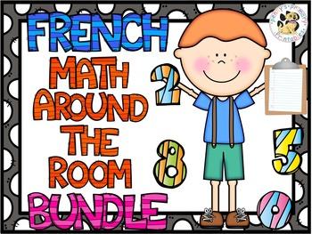 French Math Around the Room Bundle