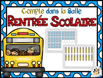 French Math Around the Room Bundle