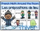 French Math Around the Room: Les prépositions de lieu