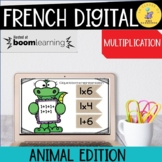 French Math Boom Cards - La Multiplication Distance Learning