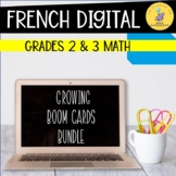 French Math Boom Cards Mega Bundle Late Primary I Distance