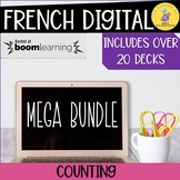 French Math Boom Cards Early Primary Mega Bundle