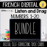 French Math Boom Cards Bundle Distance Learning I Primary